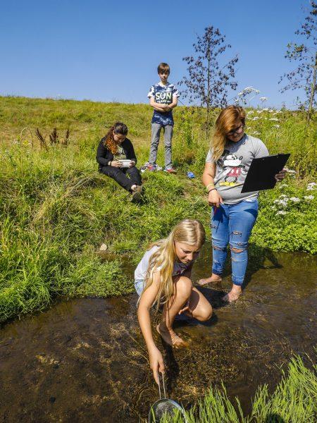 Exkursionsbaustein für den Schulunterricht. Foto: Rupert Oberhäuser/EGLV