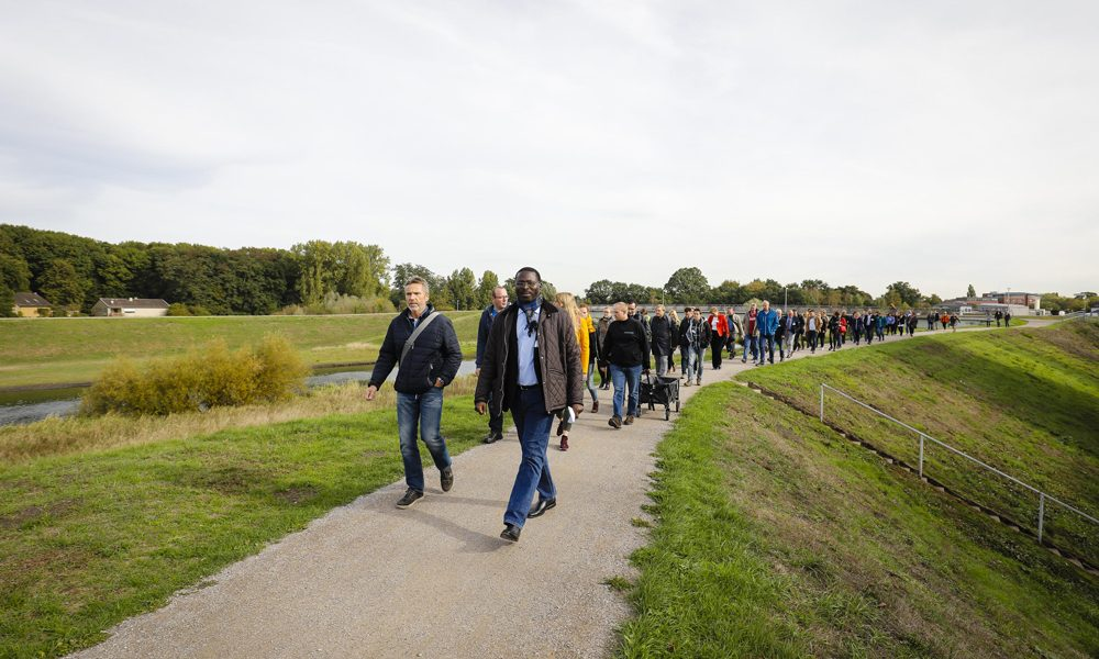 Veranstaltung Kooperation - Gemeinsam an der Lippe in Dorsten. Foto: Rupert Oberhäuser/EGLV