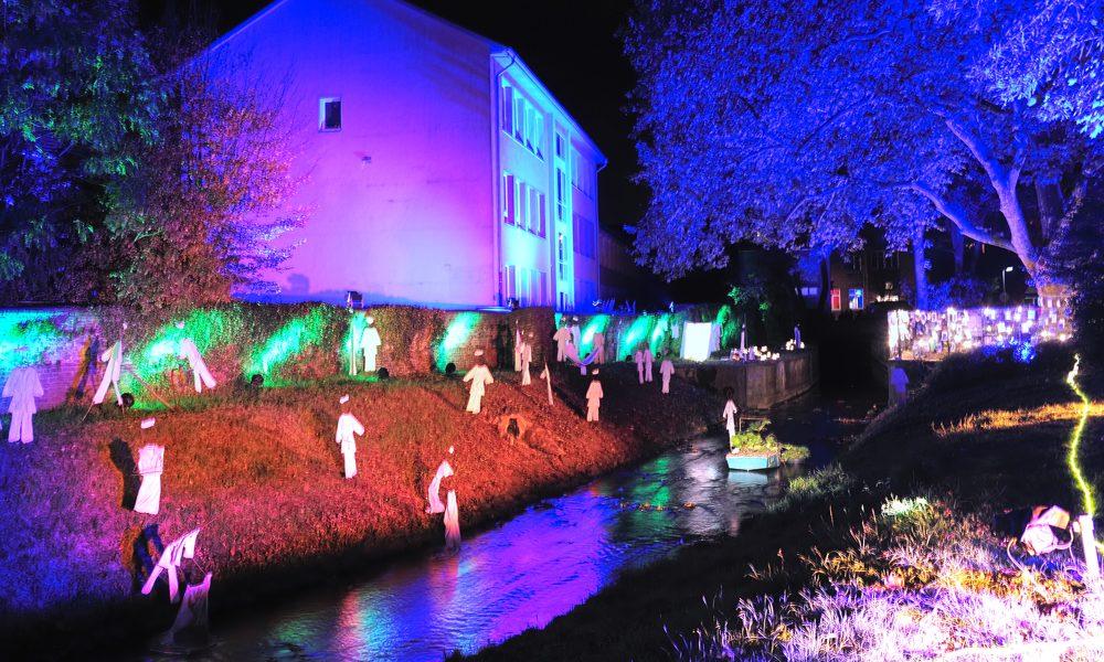 Veranstaltung: Der Rotbach - Im Fluss der Zeit. Foto: Axel Wolff/EGLV