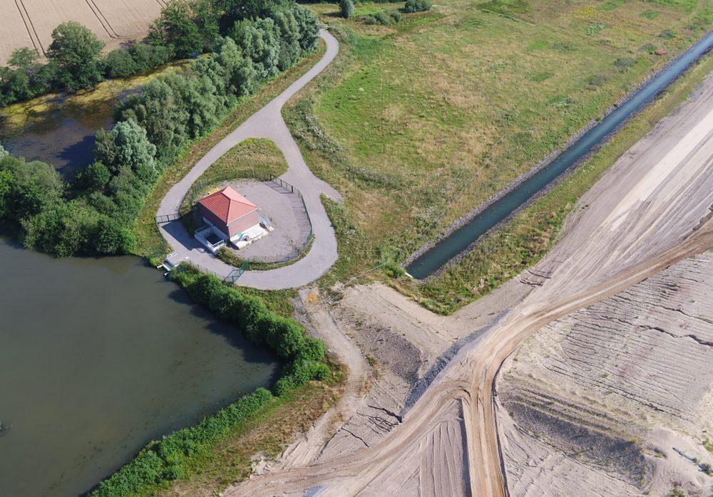 Pumpwerk Meinken. Foto: EGLV
